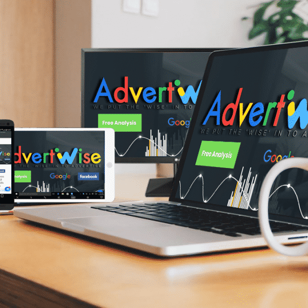 Advertwise web design